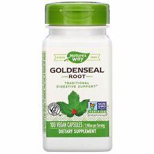 Goldenseal Root 570mg Vegan Capsules by Nature's Way 100