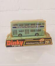 DINKY 291 ATLANTEAN BLUE KENNING BUS-RARE!