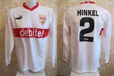 VFB Stuttgart #2 A. Hinkel 2003/2004 Home Size L Puma shirt jersey trikot maglia