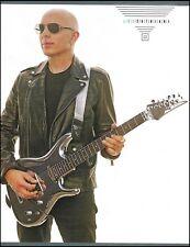 Joe Satriani Ibanez JS Series new Chrome Boy guitar 8 x 11 pin-up photo