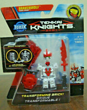 TENKAI KNIGHTS BRAVENWOLF 10001 WORK w/ LEGO MINIFIGS RARE SINGLE PACKAGING MOMC
