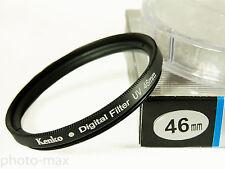 Filtro Digital Uv Kenko 46mm Protector de Lente para rosca de filtro de 46mm Lente Reino Unido Stock