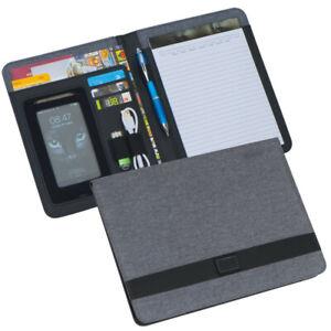 Schreibmappe / aus strapazierfähigem Stoff / DIN A5