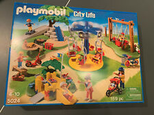 Playmobil City Life PARK PLAYGROUND Complete Set #5024 NEW FACTORY SEALED