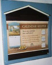 Calendar Keeper  Fits Any Popular Size Wall Calendar  Barn Red