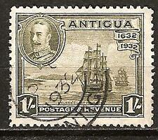 ANTIGUA # 74 Used NELSON'S VICTORY 1805 Military Ships