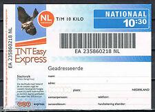Express zegel TNT 2007 10:30 uur  * ZEER LASTIG MATERIAAL