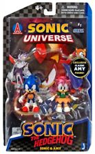 Comic Series Sonic & Amy Action Figure 2-Pack [Loose, No Comic]
