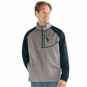 G-III Sports NFL Houston Texans Mountain Trail Half Zip Pullover Size XXL Gray