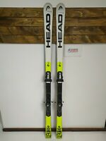 HEAD World Cup Rebels I.GS RD 173 cm Ski + BRAND NEW Fischer RS11 Bindings BSL