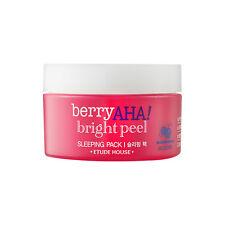 [ETUDE HOUSE] Berry AHA Bright Peel Sleeping Pack - 100ml