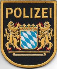 Polizei ÄLTERES Klett Abzeichen MÜNCHEN Patch Polizeiabzeichen Ärmelabzeichen