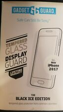 NEW Gadget Guard Tempered Glass Screen Protector Black ICE Edition for iPhone X