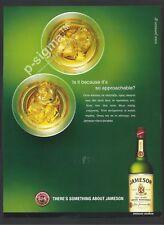 JAMESON Irish Whiskey Print Ad