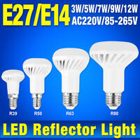 R39 R50 R63 R80 LED Lamp Replacement Bulb Reflector Light E27 E14 Socket 9BD1