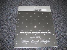 MARANTZ 1090 STEREO CONSOLE AMPLIFIER. Service Manual Original Paper