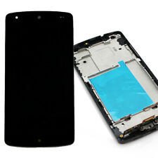 For LG Google Nexus 5 Black Touch Screen Digitizer LCD Display Frame D820 D821