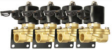4 Air Ride Suspension Brass Valves 3/8