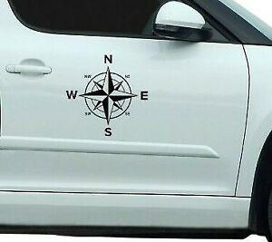 BLACK Compass Navigation STICKER DECAL GRAPHICS