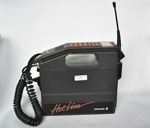 Rare Vintage Ericsson Hotline NMT 911 Brick Cell Phone