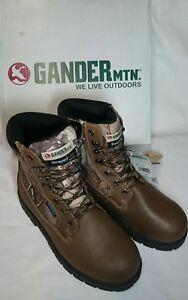 Gander Open Season Hunting Upshot boots thin-te 400gr  Waterproof Men's Size 10