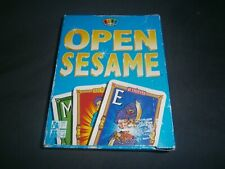 OPEN SESAME Card Game ~ Play Co (2002). SecondLife Games -FREE POSTAGE