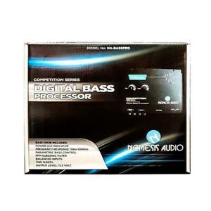 Nemesis Audio NA-BASSPRO Car Audio Digital Bass Processor