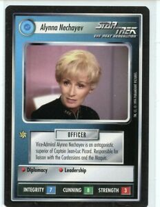 1994 Star Trek BB Black Border Alynna Nechayev Near Mint