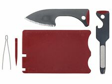 New Wenger 45150 Travel Card MultiTool Fit in Wallet Credit Card Size