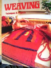 Weaving: Techniques & Projects Rug Loom Needleweaving Off Loom Pattern Book