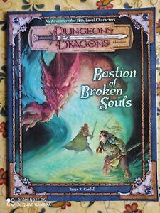 manuale fantasy -  D & D -  BASTION OF BROKEN SOULS - INGLESE