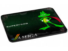 Modern yet Rustic looking SUPERFROG with AMIGA Logo Mouse Mat (022)