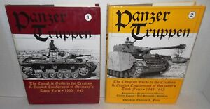 2-Vols Panzer Truppen Complete Guide to the Creation and History German Armor