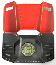 AUTHENTIC Takara Transformers Masterpiece MP-12 Lambor Sideswipe COLLECTOR COIN