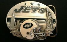 NEW YORK JETS NFL Pewter Belt Buckle 2nd. Series, # 927/10,000 RARE!!