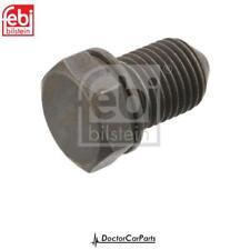 Oil Drain Sump Plug for SEAT LEON 1.6 99-on TDI 1M 1P 5F Febi
