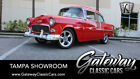 1955 Chevrolet Bel Air/150/210  Red 1955 Chevrolet Bel Air  Fuel Injected Supercharged 383 CID V8 700 R4 4 Speed