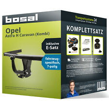 Anhängerkupplung BOSAL starr OPEL Astra H Caravan (Kombi) +Elektrosatz inkl. EBA
