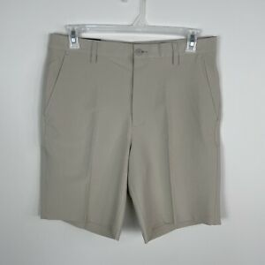 Footjoy Men's Performance Knit Golf Shorts Khaki Size 34 #24202