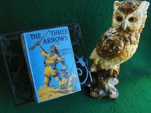 THE THREE ARROWS BY E.S. ELLIS WILD WEST EARLY EDITION c1920 VGC
