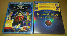 New Disney Snow White & 7 Dwarfs Bluray/DVD w/slipcover + Empty Steelbook OOP