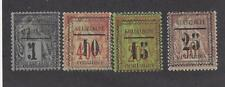 """GUADELOUPE - 6 - 9  - MH - 1889 - """"GUADELOUPE"""" & NEW VALUE ON FRENCH COLONIES"""