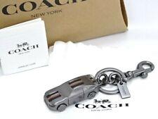 NEW Auth COACH Accessory Key Ring Holder Bag Charm Car Free Ship 38160422000 K