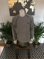Vintage 2000s Umbro Small Logo Fleece Jumper Sweatshirt Xl Grey