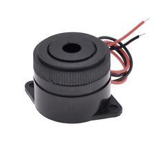 Noir 3-24V DC 2 buzzer fils couvrent continue son electronique industrielle Y6B3