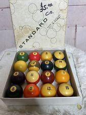 New listing Belgian Aramith Balls, Standard/The Belgian Billiard Pool Balls/Vintage