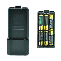 1X(For Baofeng UV-5R 6xAA Battery Case Walkie Talkie Battery Shell for PorL3J9)