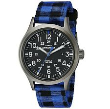 Timex Men's Expedition TW4B021009J Scout Watch with Buffalo Check Nylon Strap