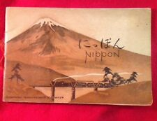 NIPPON: The Land of Colour, Courtesy and Charm 1928 Japanese Government Railways