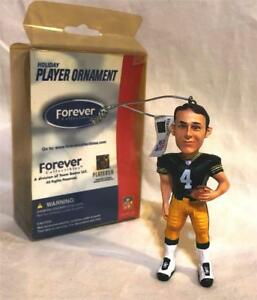 GREEN BAY PACKERS BRETT FAVRE HOLIDAY CHRISTMAS ORNAMENT NFL FOCO COLLECTIBLES
